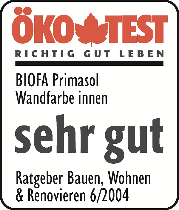 BIOFA label Öko Test